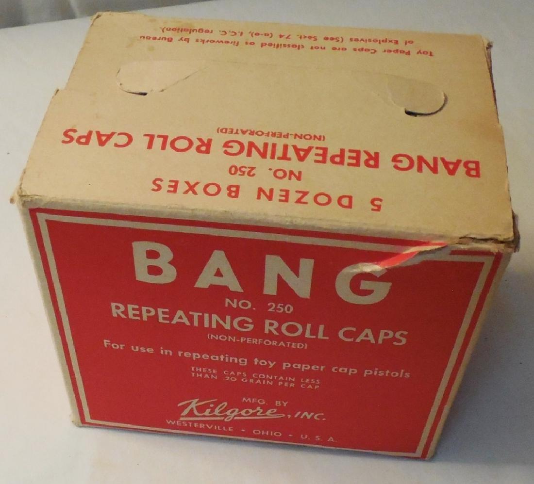 Box w/ Various Brands of Caps