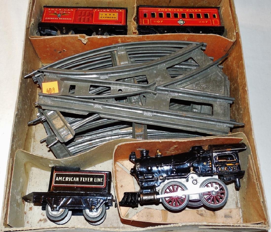 American Flyer Train Set w/ Wind-up Engine & Box - 2