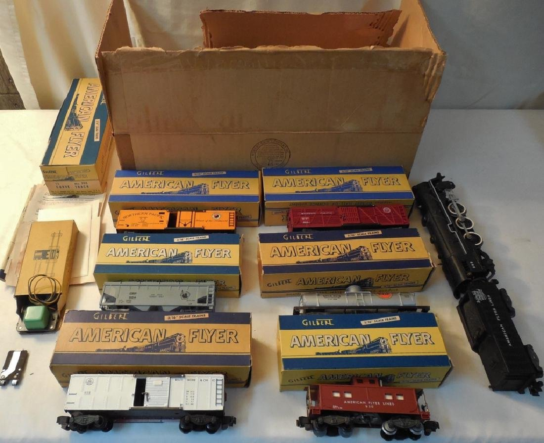 American Flyer Train Set No. K5329 w/ Orig. Boxes