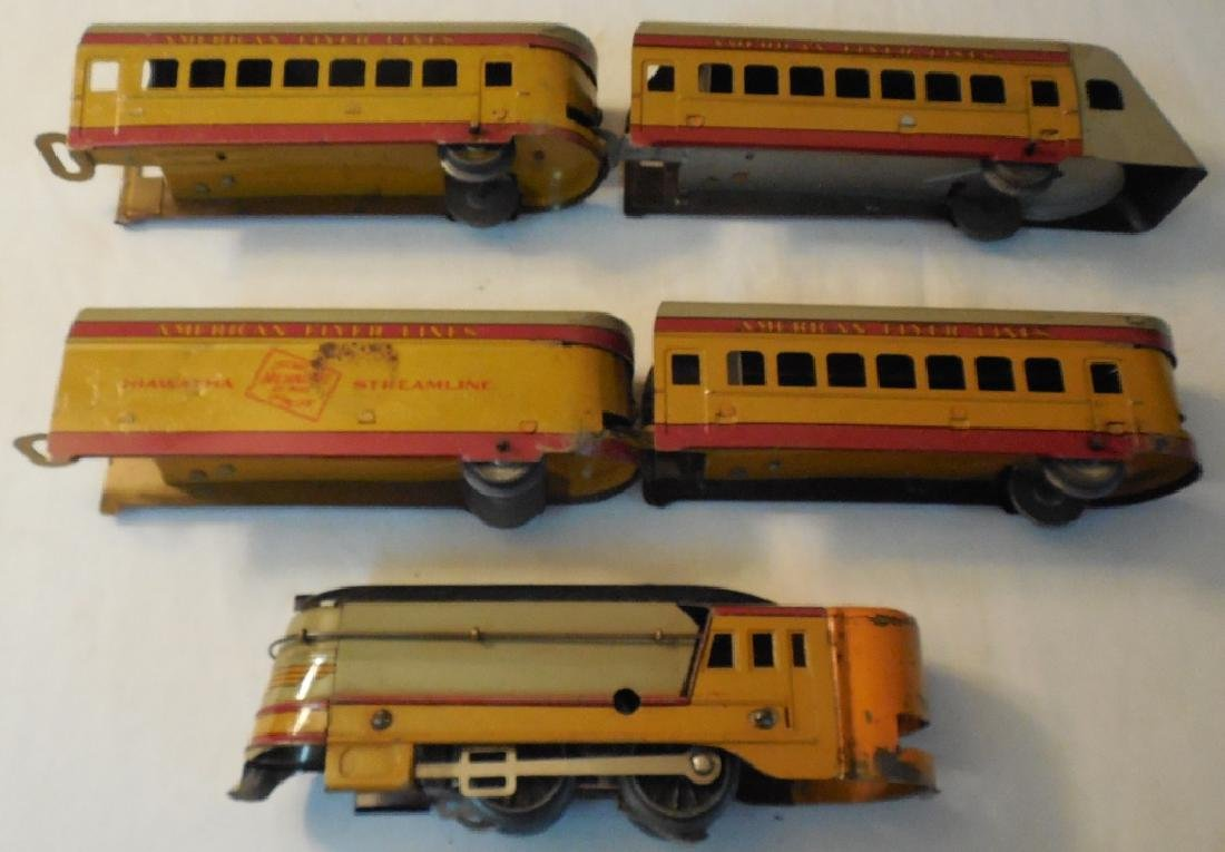 Early American Flyer Hiawatha Train Set