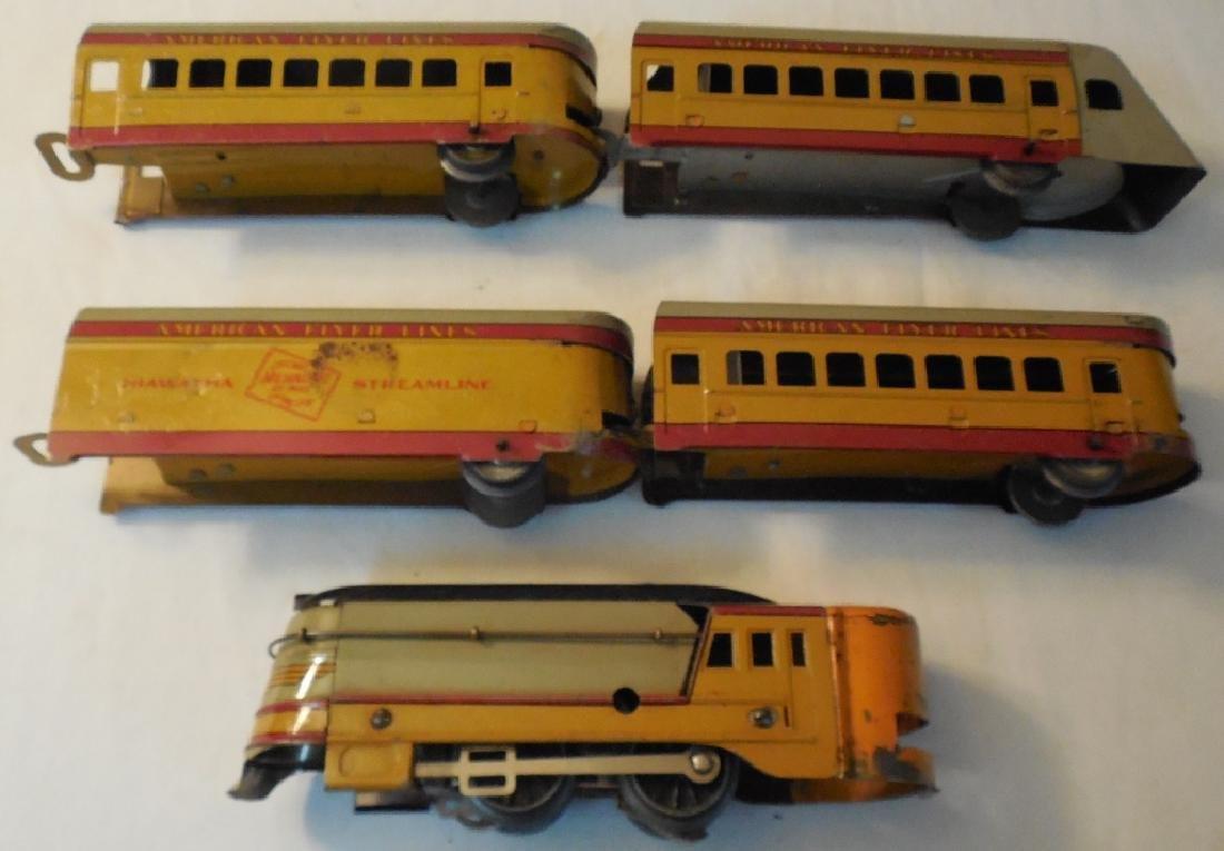 Early American Flyer Hiawatha Train Set
