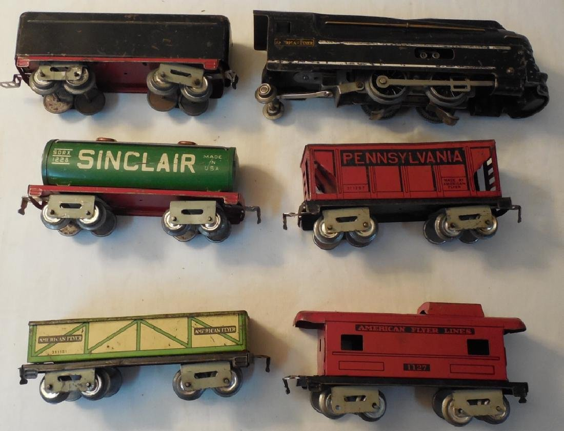American Flyer Train 6-Piece Set