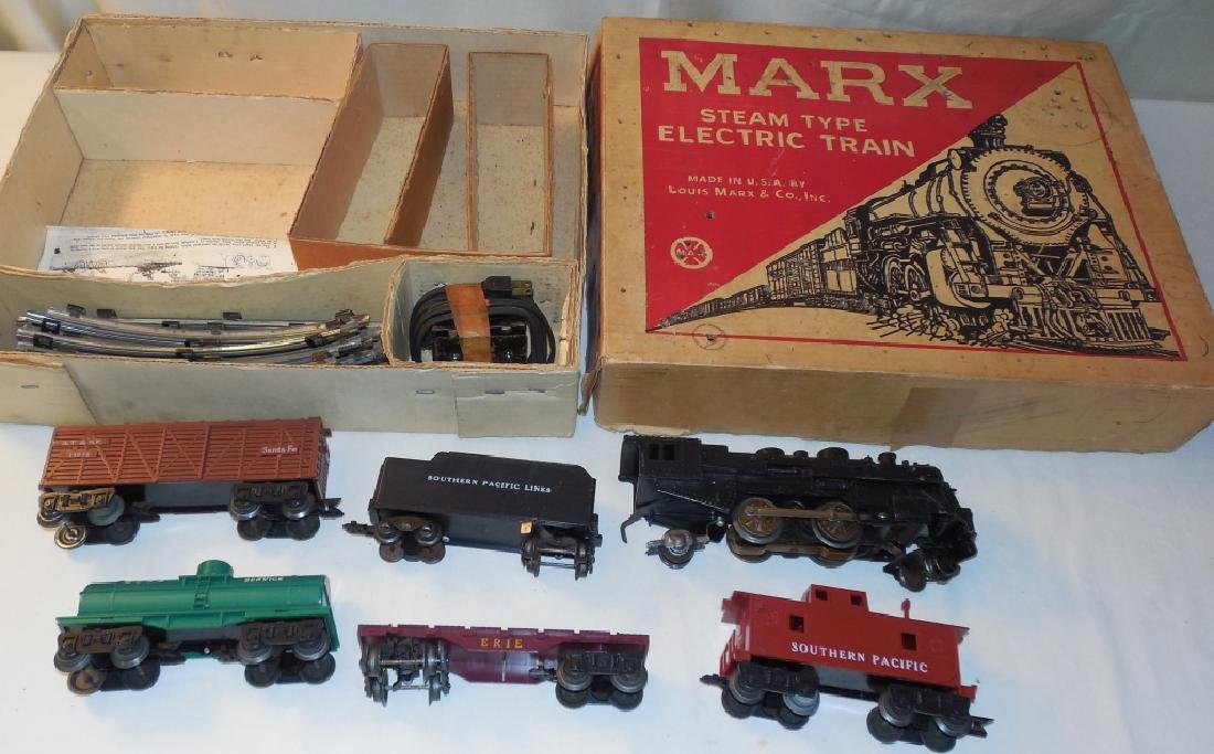Marx  Electric Train Set Southern Pacific