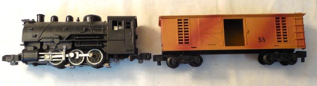 Lionel 21155 Engine & Box Car