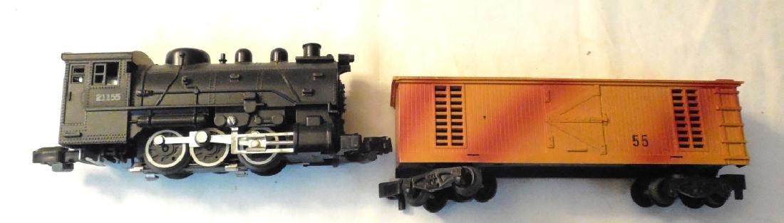Lionel 21155 Engine & Box Car - 2