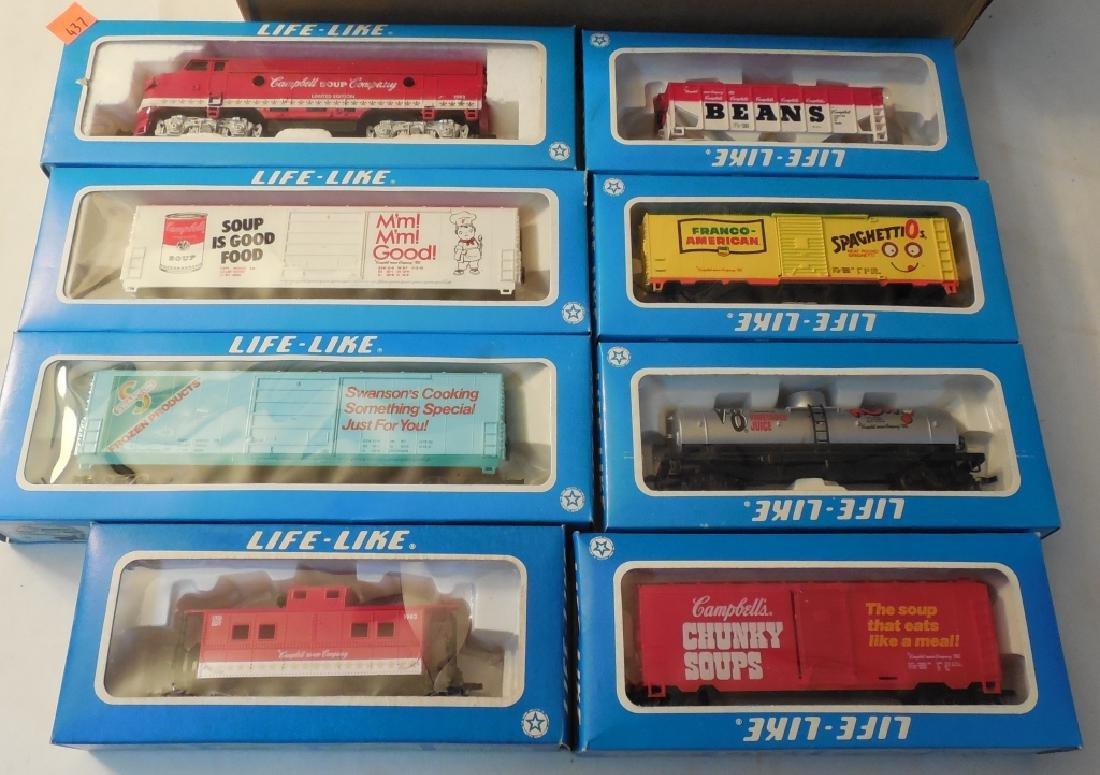 Life Like HO Train Set w/ Boxes