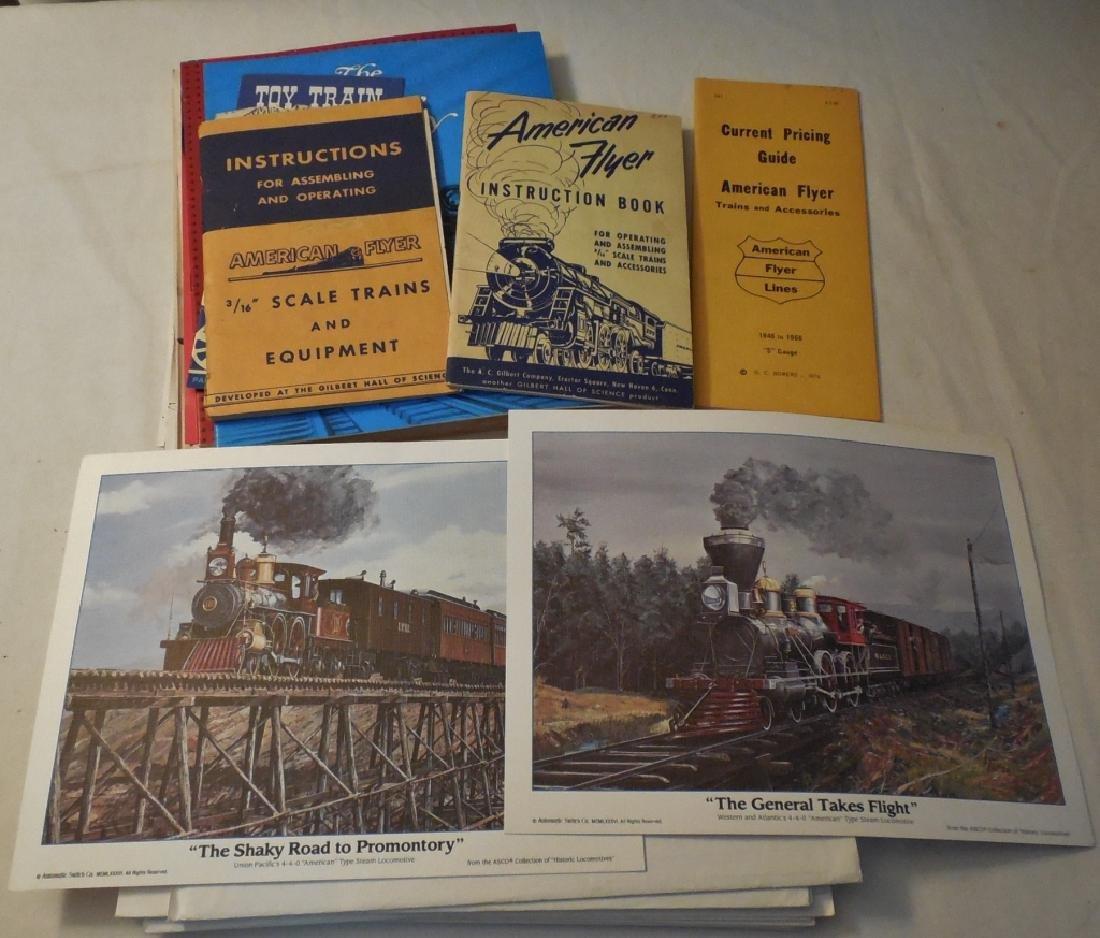 American Flyer Operator's Manuals