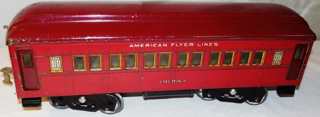 American Flyer 4019 Standard Gauge Engine & Cars - 10
