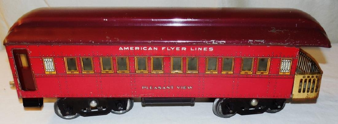 American Flyer 4019 Standard Gauge Engine & Cars - 2