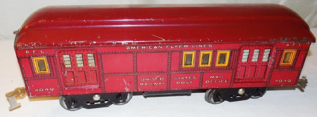 American Flyer 4019 Standard Gauge Engine & Cars - 7