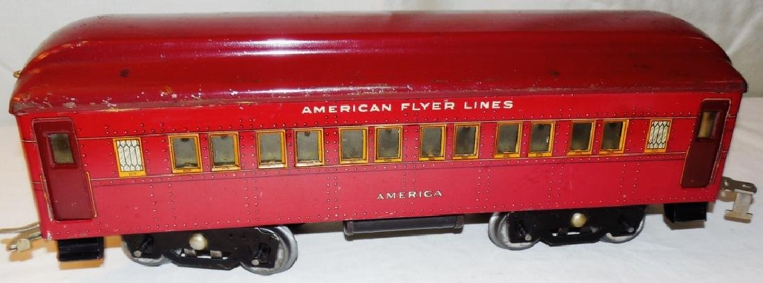 American Flyer 4019 Standard Gauge Engine & Cars - 9