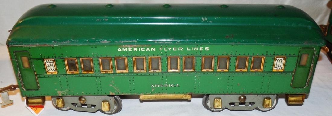 American Flyer 4644 Standard Gauge Engine & Cars - 7