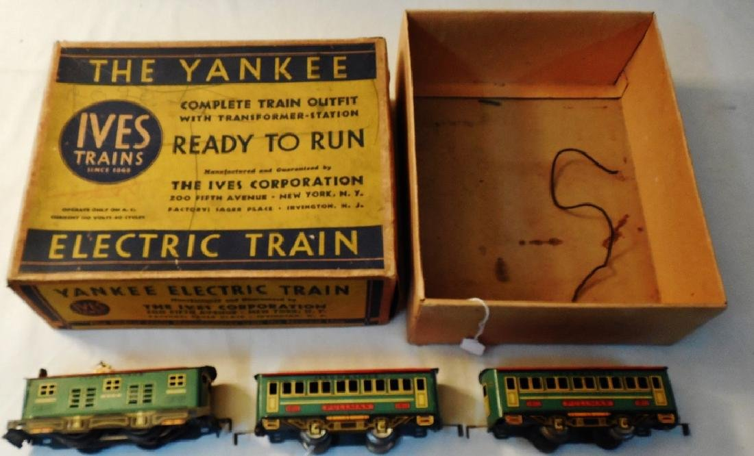 """Ives """"The Yankee"""" Electric Train Set"""