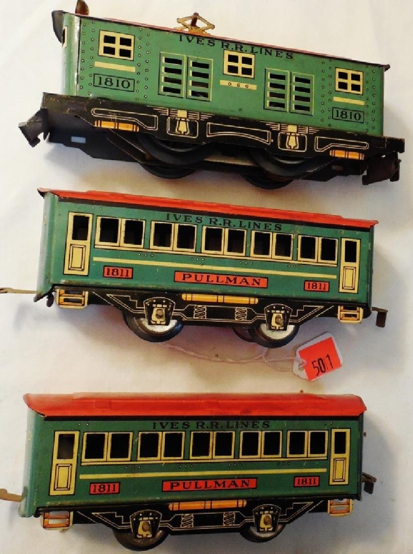 """Ives """"The Yankee"""" Electric Train Set - 2"""