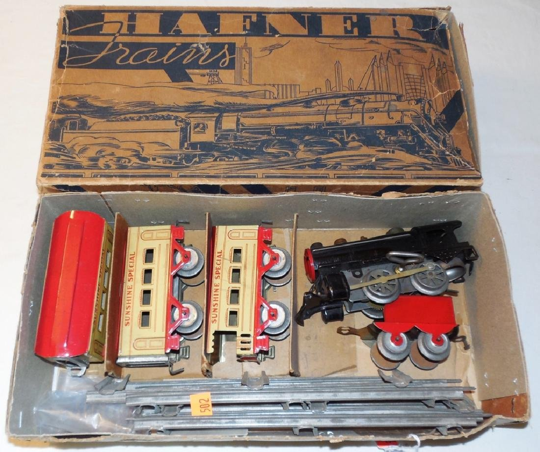Hafner Train Set w/ Box