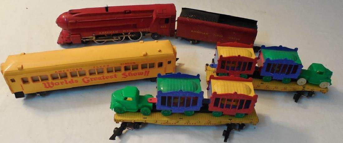 American Flyer Circus Train Set