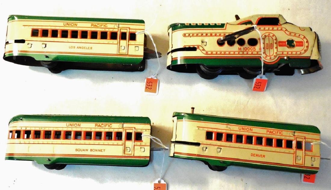 Marx Union Pacific Train Set