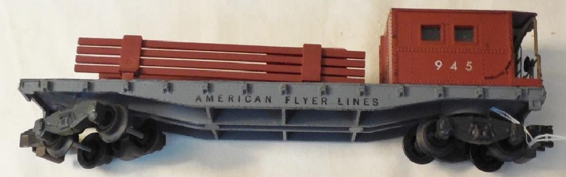 Lot of American Flyer Engines & Cars - 4