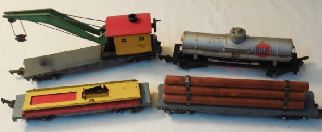 Lot of 4 American Flyer Cars