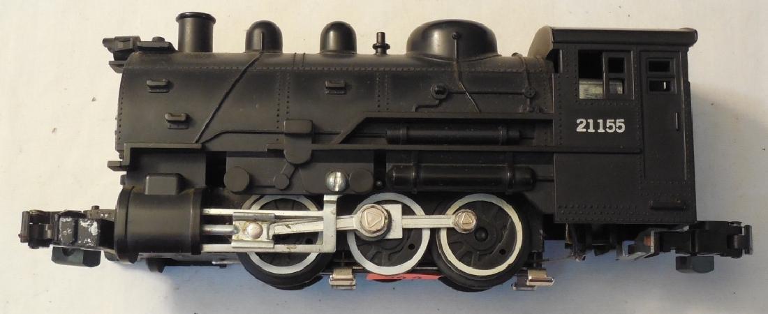 American Flyer Switcher, Lionel 21155 Engine - 4