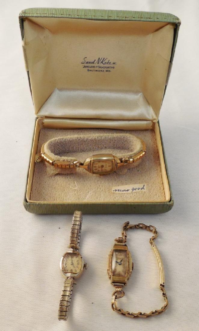 Lot of 3 Women's Wrist Watches