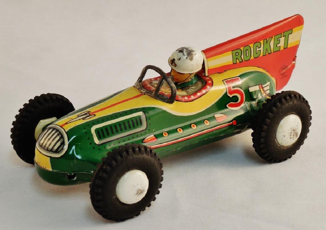Rocket Racer Tin Toy - 2