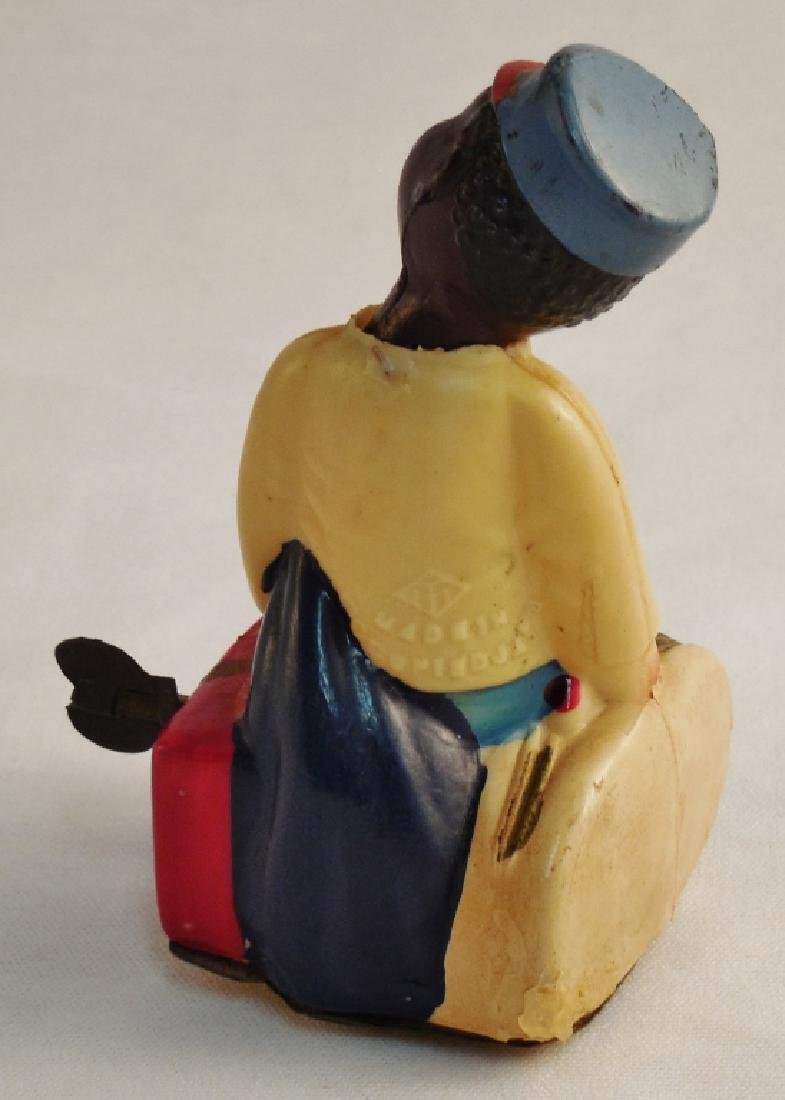 Celluloid Wind-Up Black America Toy - 3