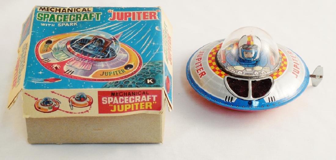 Mechanical Spacecraft Jupiter with Box