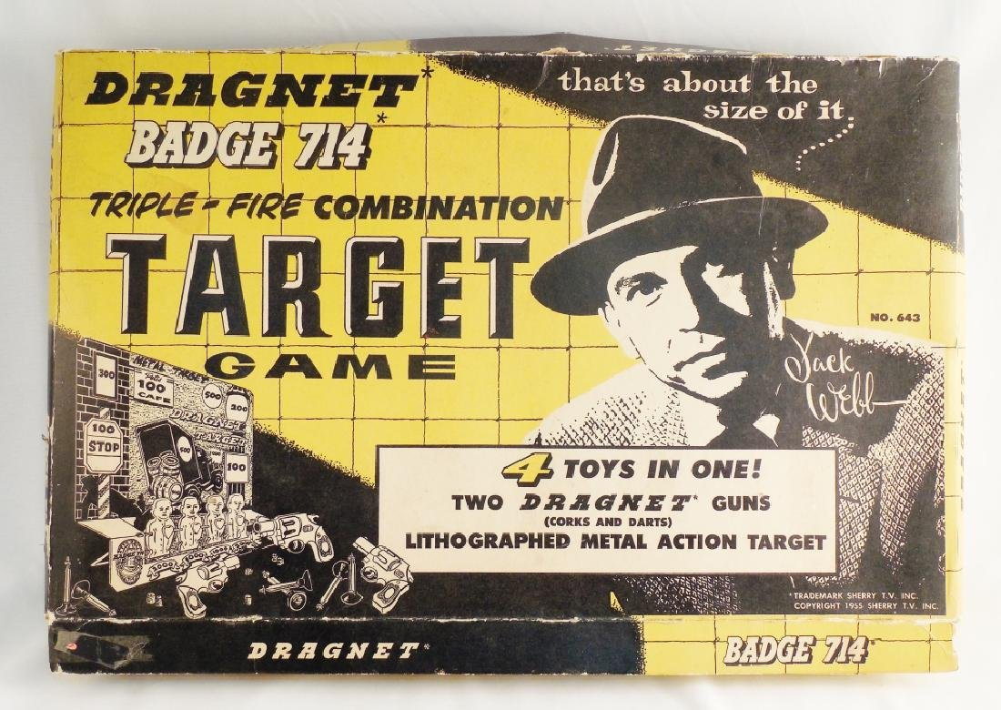 Dragnet Bade 714 Triple-Fire Combo Target Game