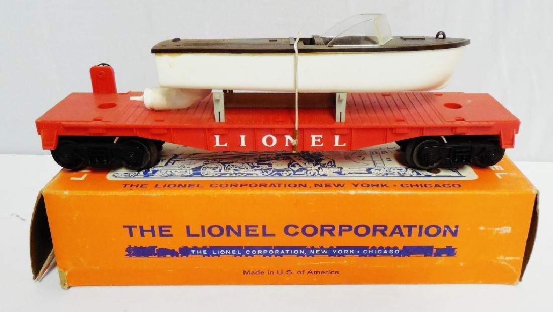 Lionel No 6501 Jet Motor Boat Transport Car