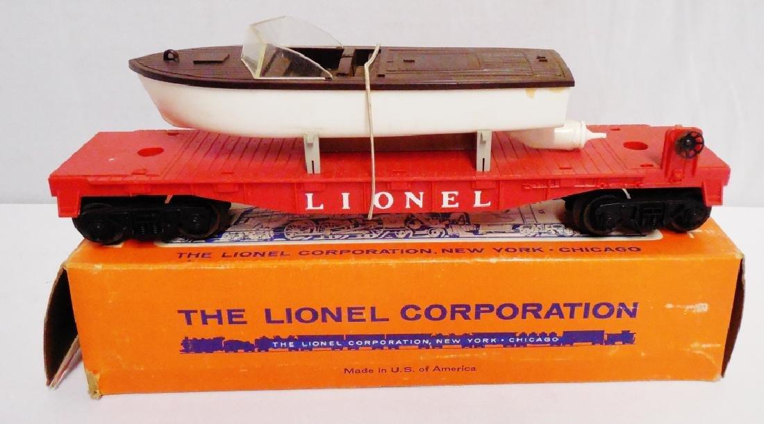 Lionel No 6501 Jet Motor Boat Transport Car - 2