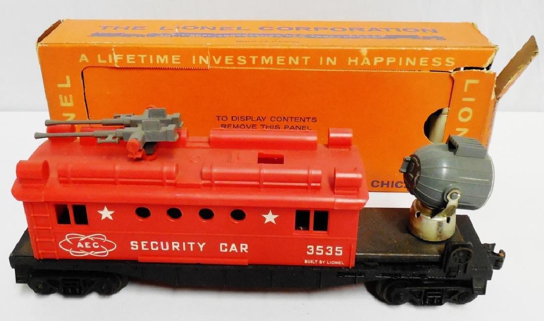 Lionel No 3535 Security Car