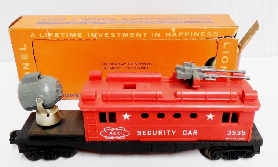 Lionel No 3535 Security Car - 2