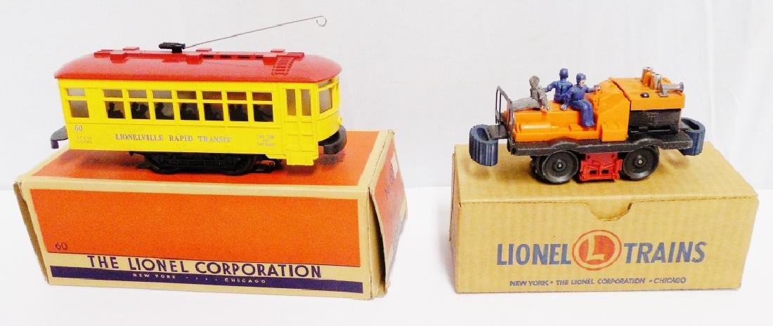 Lot of 2 Lionel Cars with Boxes - 2