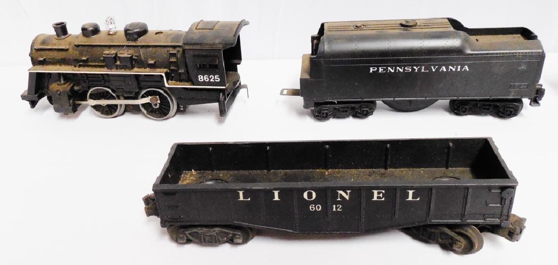Lionel No 8625 Freight Set - 2