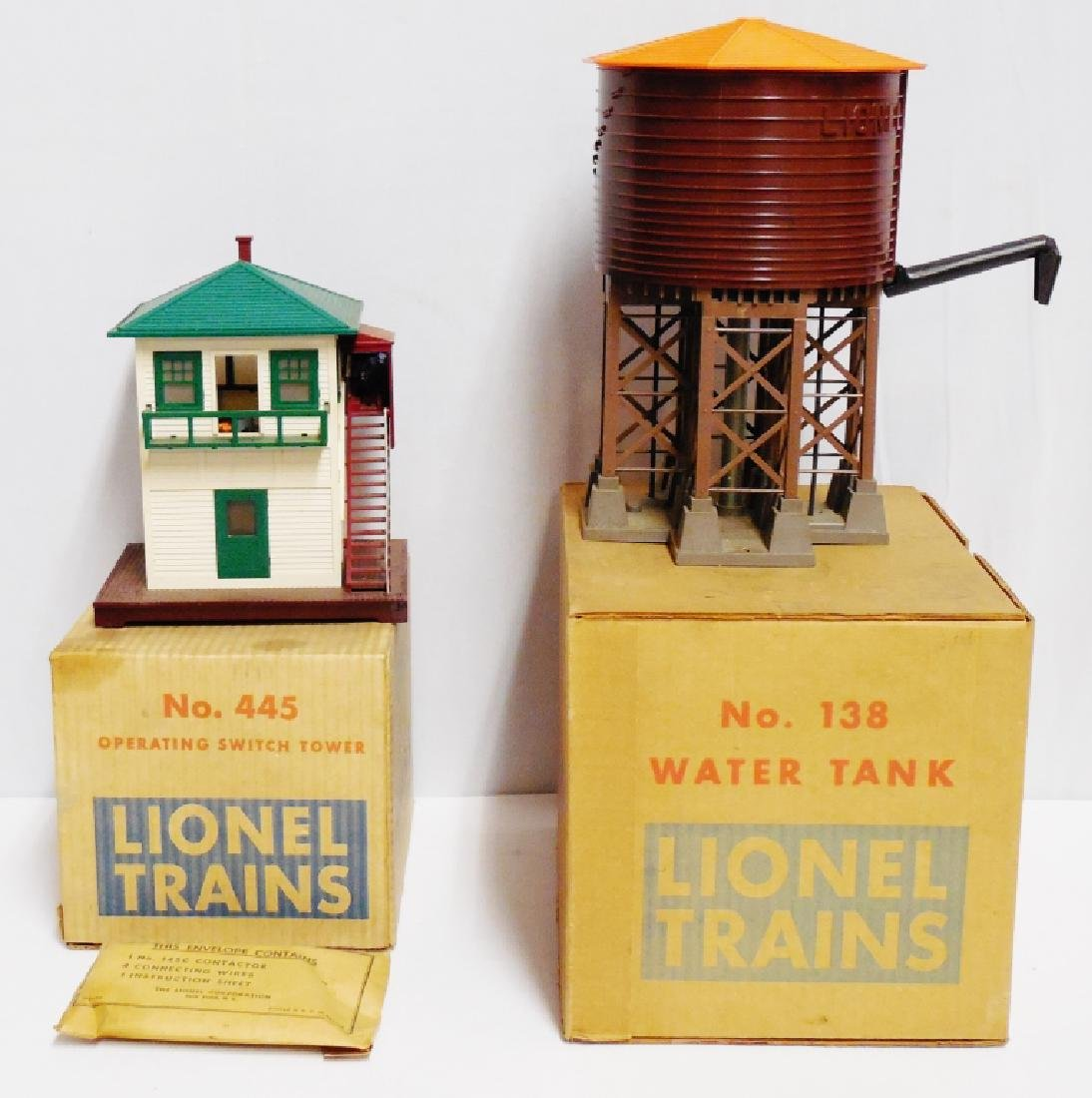 Lot of 2 Lionel Accessories with Boxes