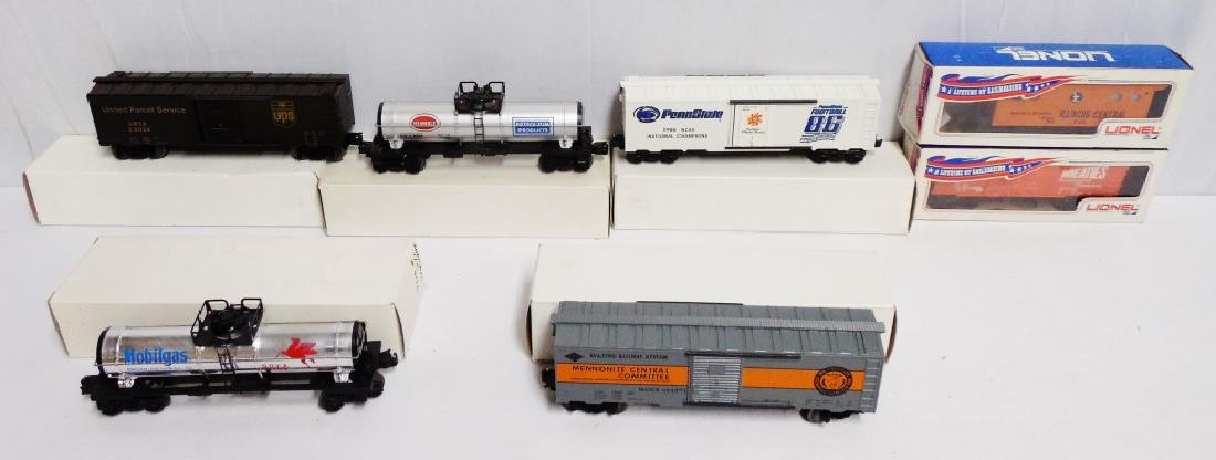 Lot of 7 Train Cars and Tankers