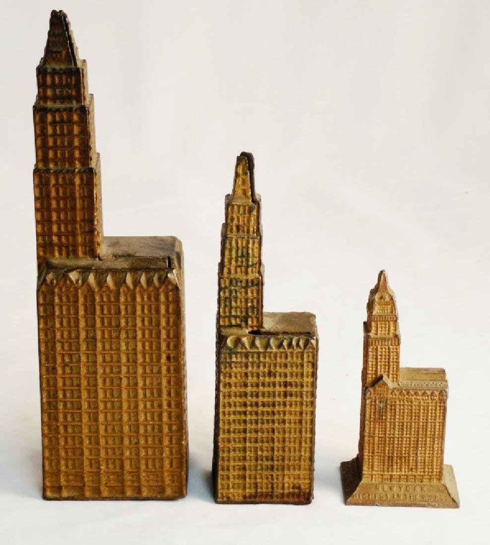 Lot of 3 Skyscrapper Banks