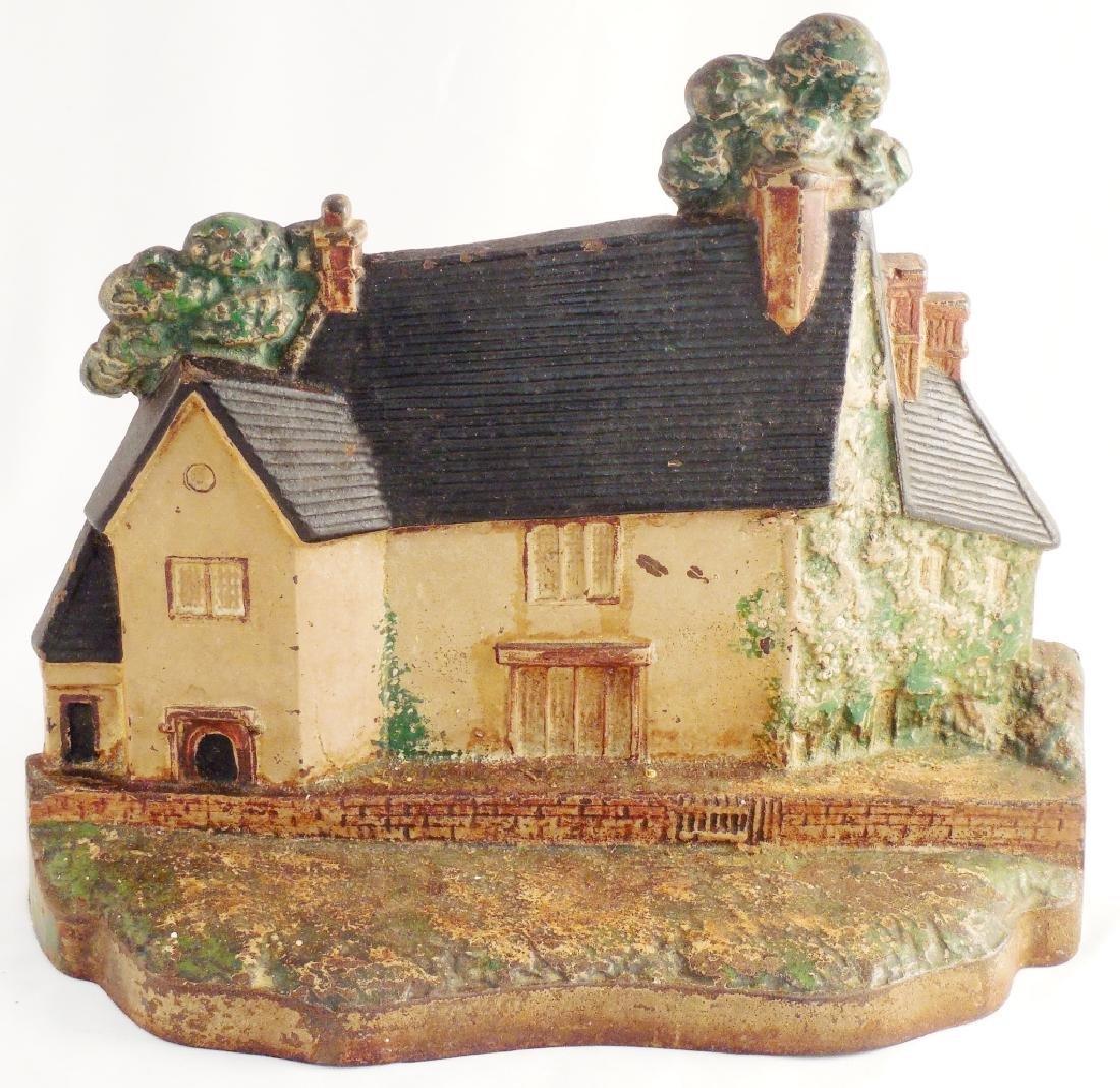 Cast Iron Doorstop Sulgrave Manor England