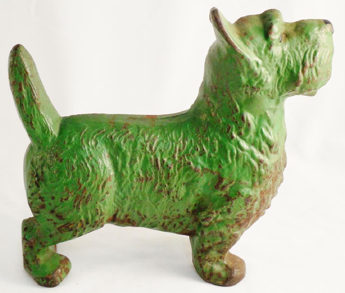 Cast Iron Doorstop Terrier