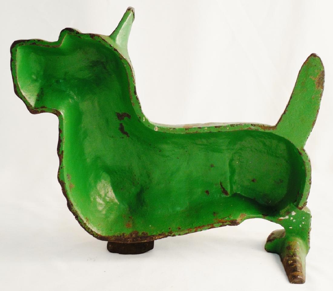 Cast Iron Doorstop Terrier - 2