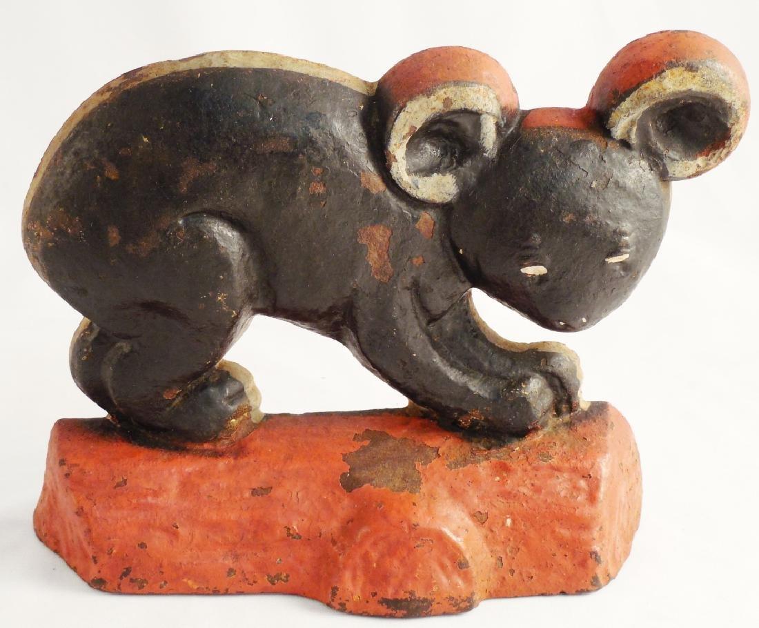 Cast Iron Doorstop Koala Bear