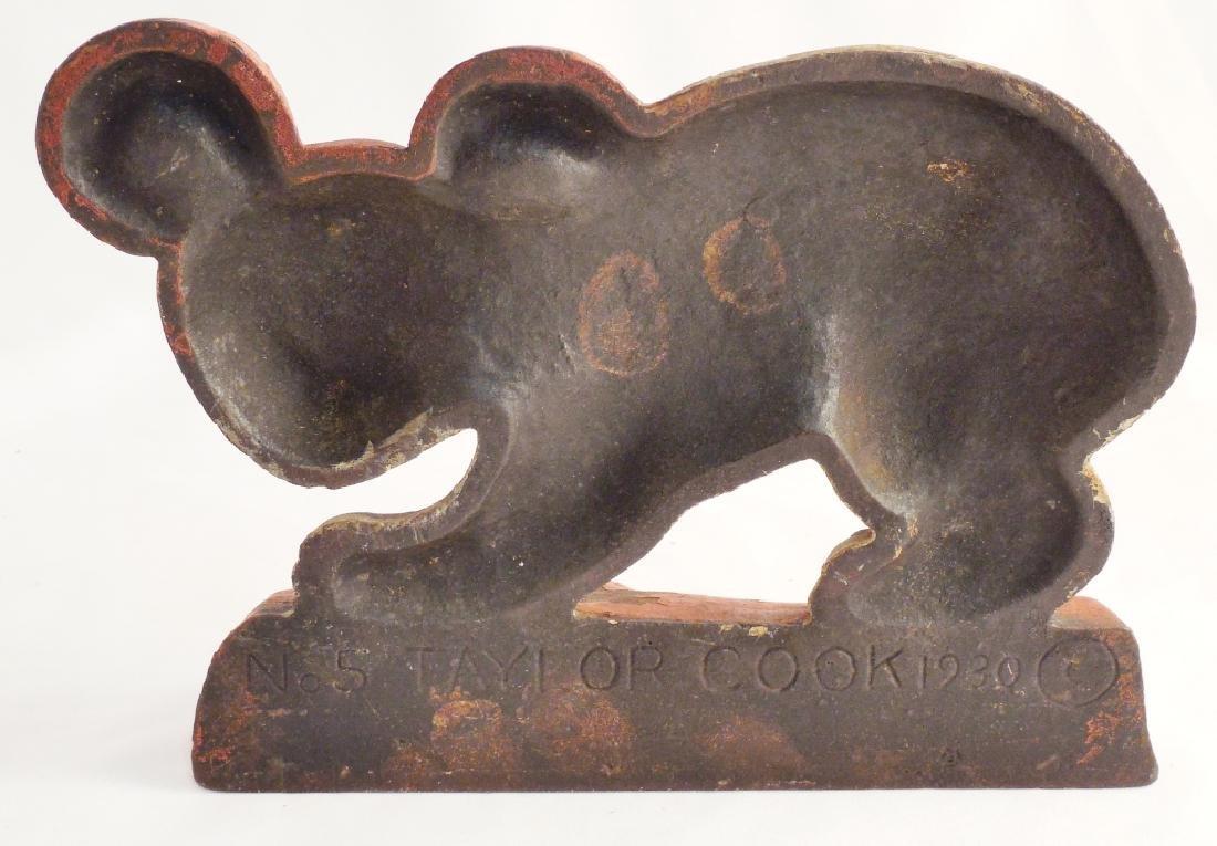 Cast Iron Doorstop Koala Bear - 2