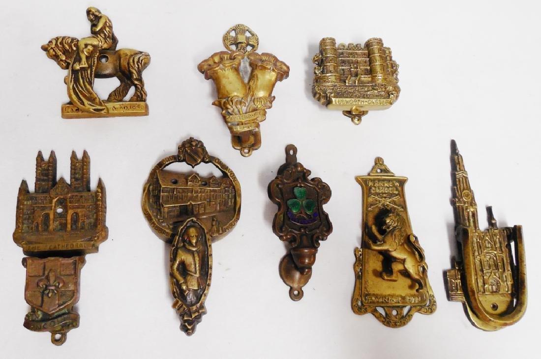 Lot of 8 Metal/Brass Door Knockers
