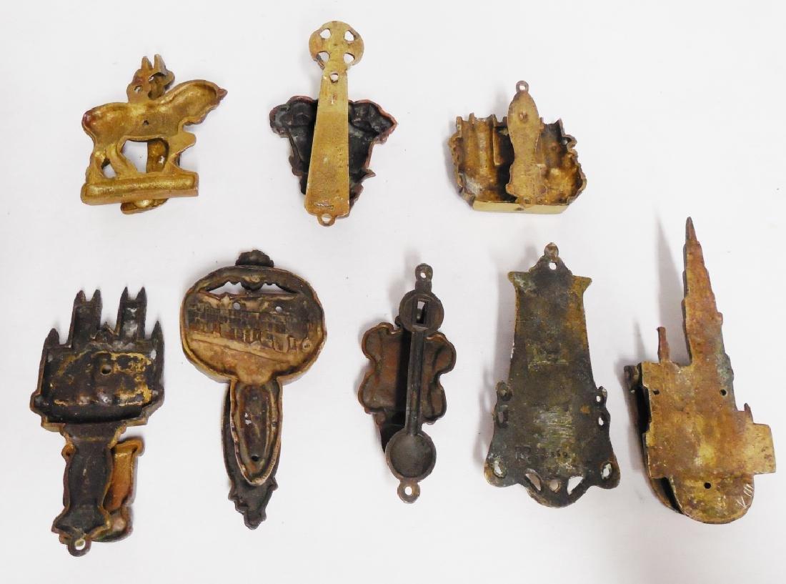 Lot of 8 Metal/Brass Door Knockers - 2