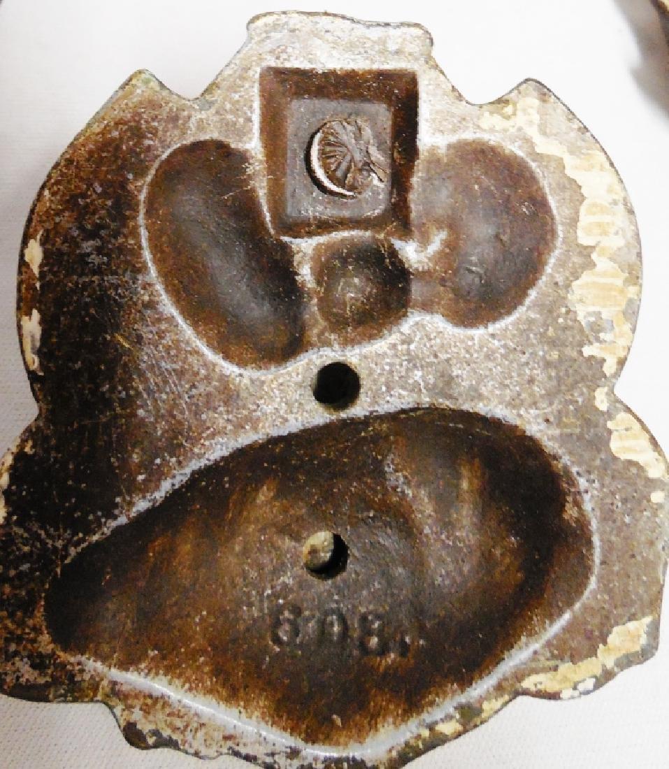 Lot of 4 Cast Iron Door Knockers - 3