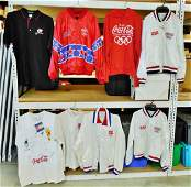 Lot of 8 Pieces CocaCola Clothing Olympic Related