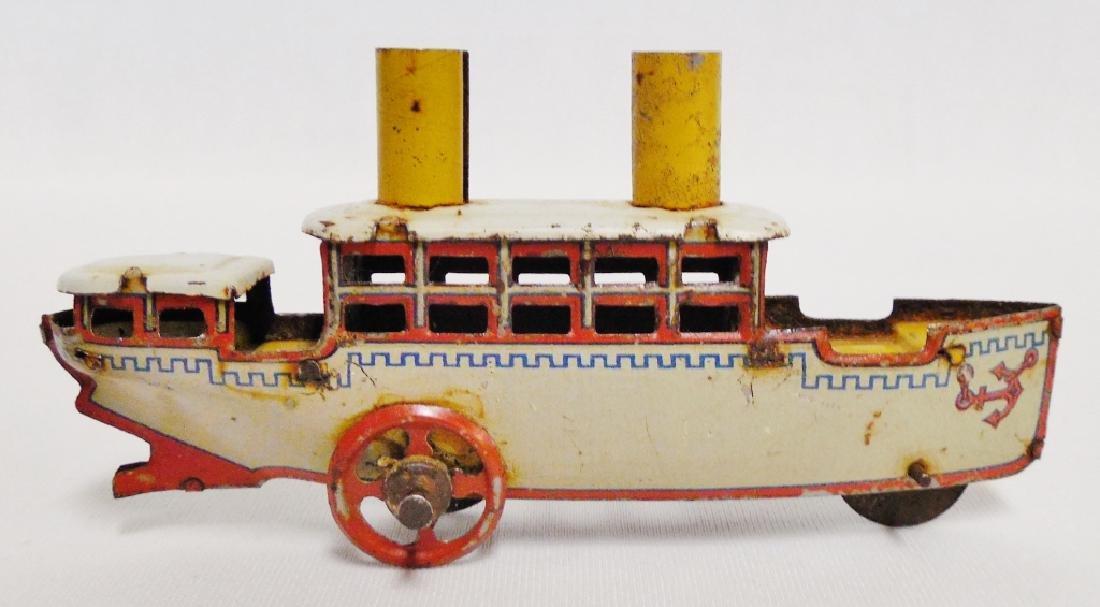 German Tin Penny Toy