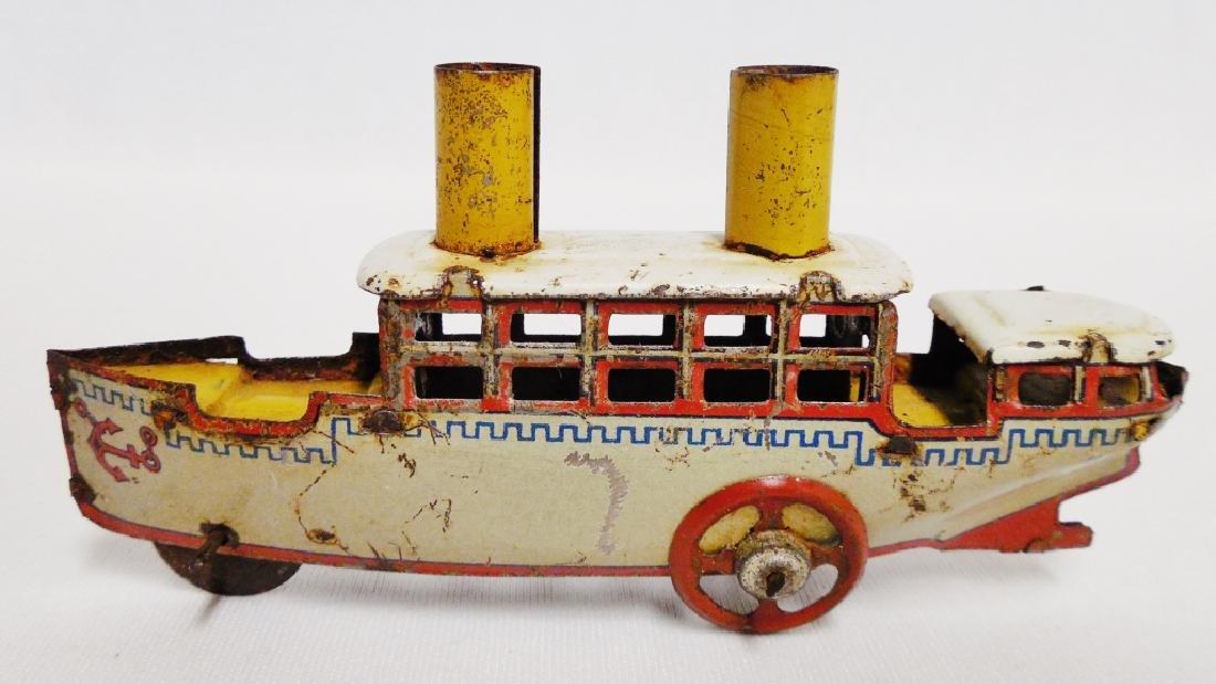 German Tin Penny Toy - 2