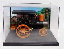 Cast Iron Model Steam Tractor